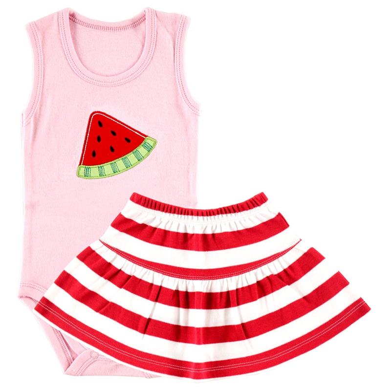 "Hudson Baby Комплект Боди-майка и юбка ""Арбуз"", 2 пр. 55015"