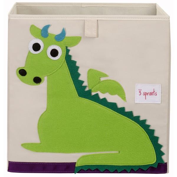 Коробка для хранения Дракон (Green Dragon), 3 Sprouts