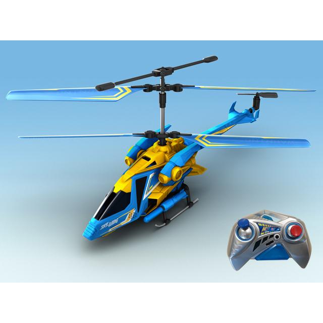 AULDEY Вертолет YW858522-F SKY-WING на ИК управлении с гироскопом, с военной ракетной установкой, 28см 1169962