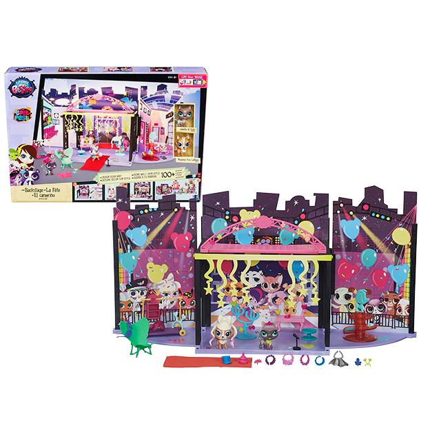 LITTLEST PET SHOP (HASBRO) Набор B1241 игровой За кулисами LITTLEST PET SHOP 1190420