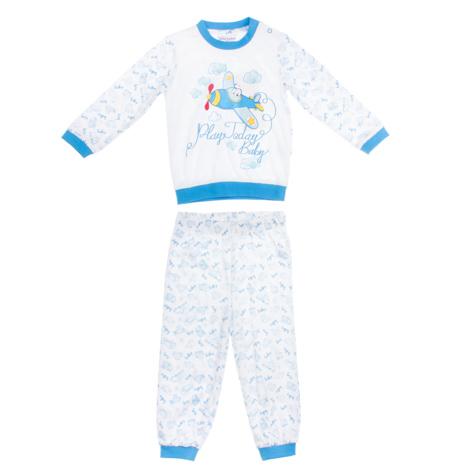 PlayToday Комплект для мальчика: футболка с длинным рукавом, брюки 167026